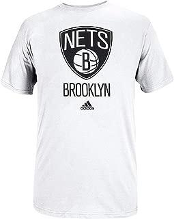 adidas NBA Brooklyn Nets Primary Logo T-Shirt - White