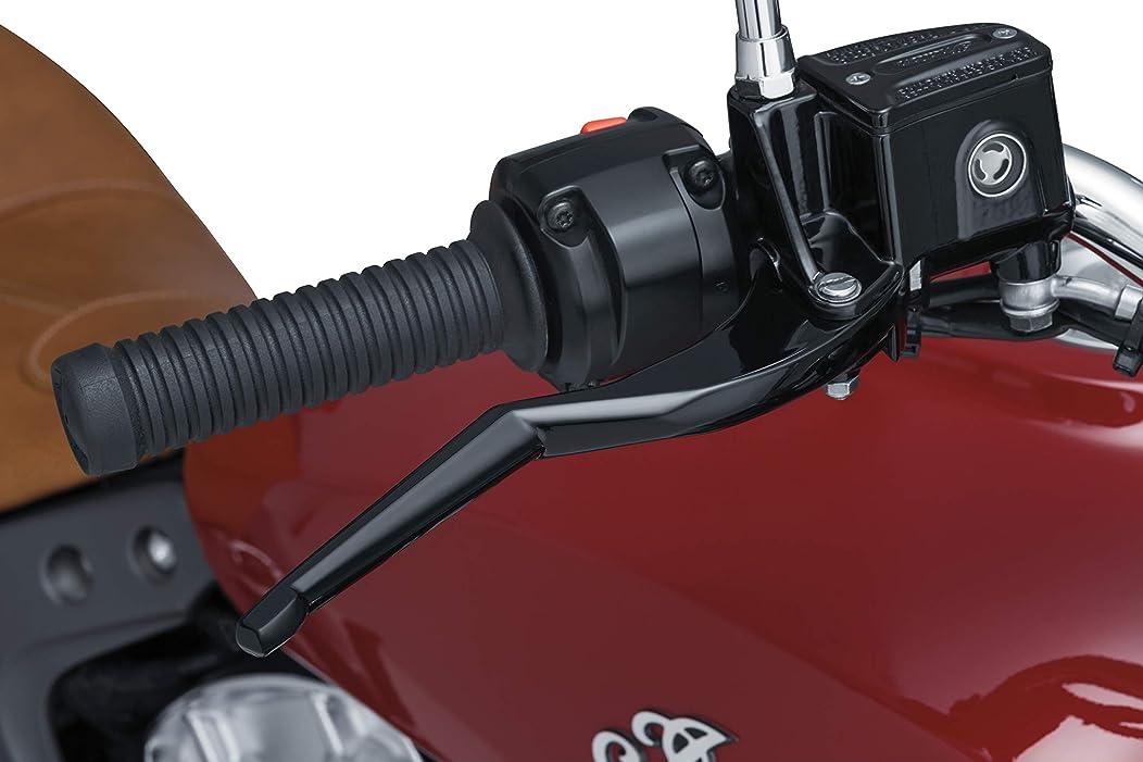 Kuryakyn 7136 Gloss Black Motorcycle Handlebar Accessorie, 2 Pack
