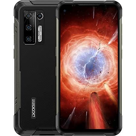 Movil Resistente Agua y Golpes, DOOGEE S97 Pro [2021] 8GB+128GB Movil con Telémetro 40m, 48MP Cámara Cuádruple, 8500mAh 33W IP68 IP69K Movil Todoterreno, 4G Android 11 Helio G95 6.39 Inch, NFC