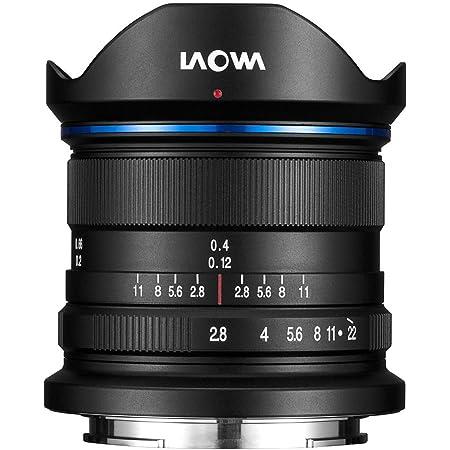 Laowa 9mm f/2.8 Zero-D SLR Ultra-Wide Lens (SLR, 15/10, Ultra Wide Lens, Sony E, Sony, Black)