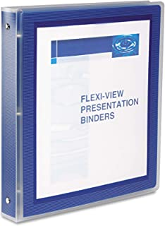 """Avery Flexi-View Binder with Round Rings,BNDR,FLEXI-VIEW 1"""",NVBE"""