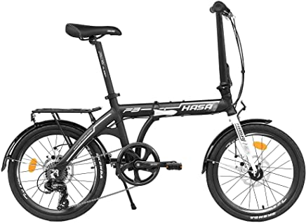 HASA Folding Foldable Bike Shimano 7 Speed