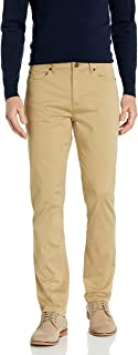 Buttoned Down Men's Slim-fit 5-Pocket Easy Care Stretch Twill Chino Pant