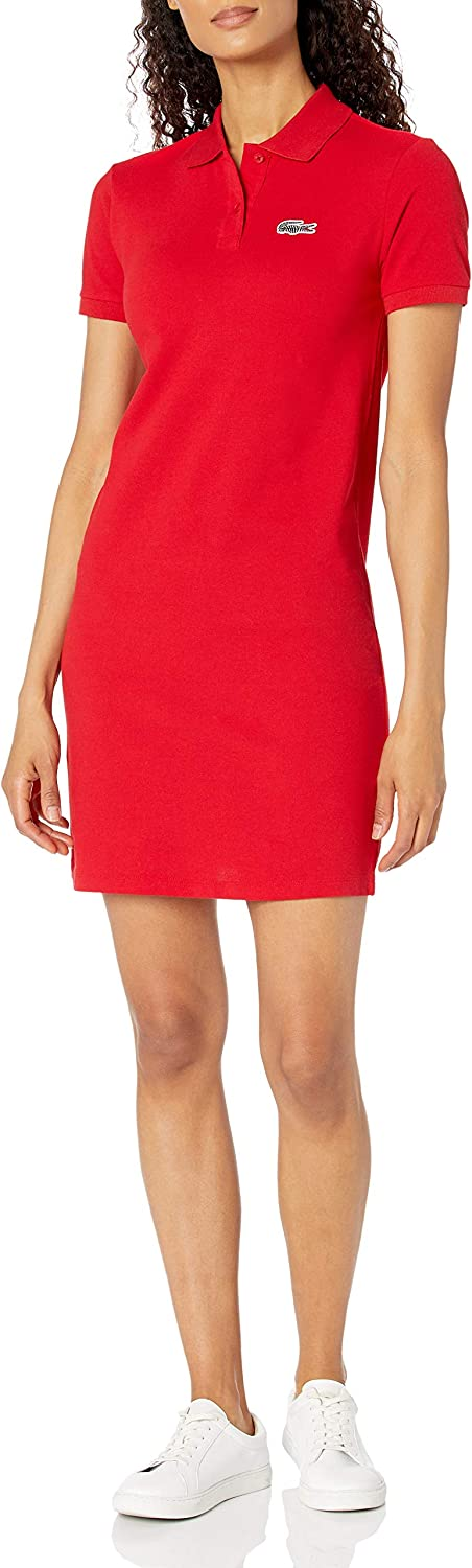 Lacoste Women's Short Sleeve National Geographic Croc Polo Dress