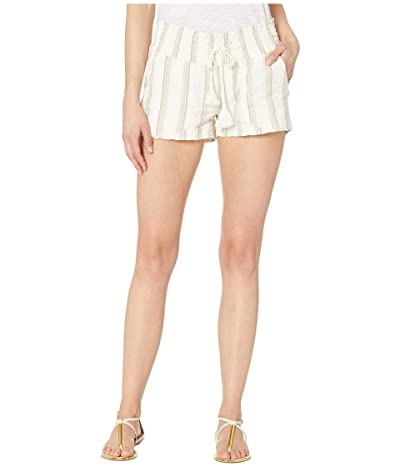 Roxy Oceanside Shorts Yarn-Dye (Marshmallow Be Mine Stripe) Women
