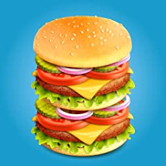 Craving for fast food. Create Different Sandwiches. Delicious burgers! Serve items to the customer.