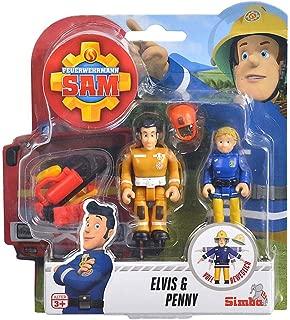 Sam il Pompiere Elvis Penni Steele Norman personaggio del gioco GIOCO PERSONAGGI COMANSI