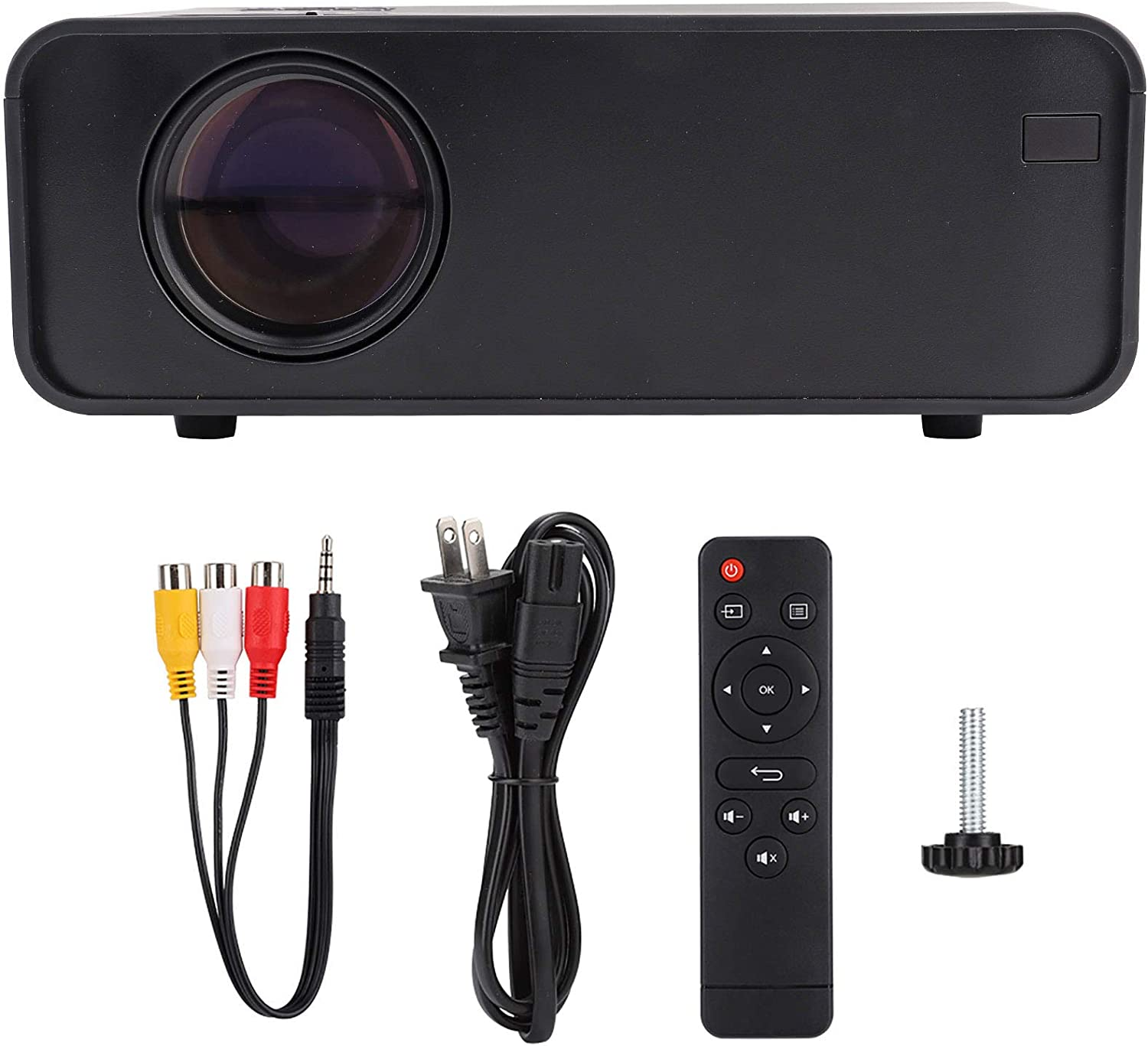Yivibe Mini Projector Black quality assurance LCD Special Campaign High-Definition HD f