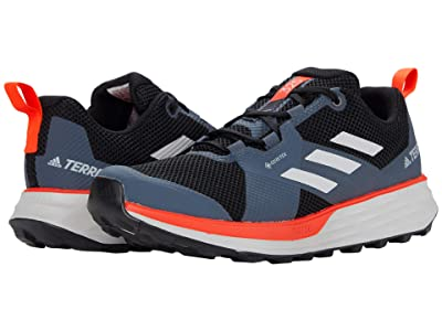adidas Outdoor Terrex Two GTX (Black/Grey Two/Solar Red) Men