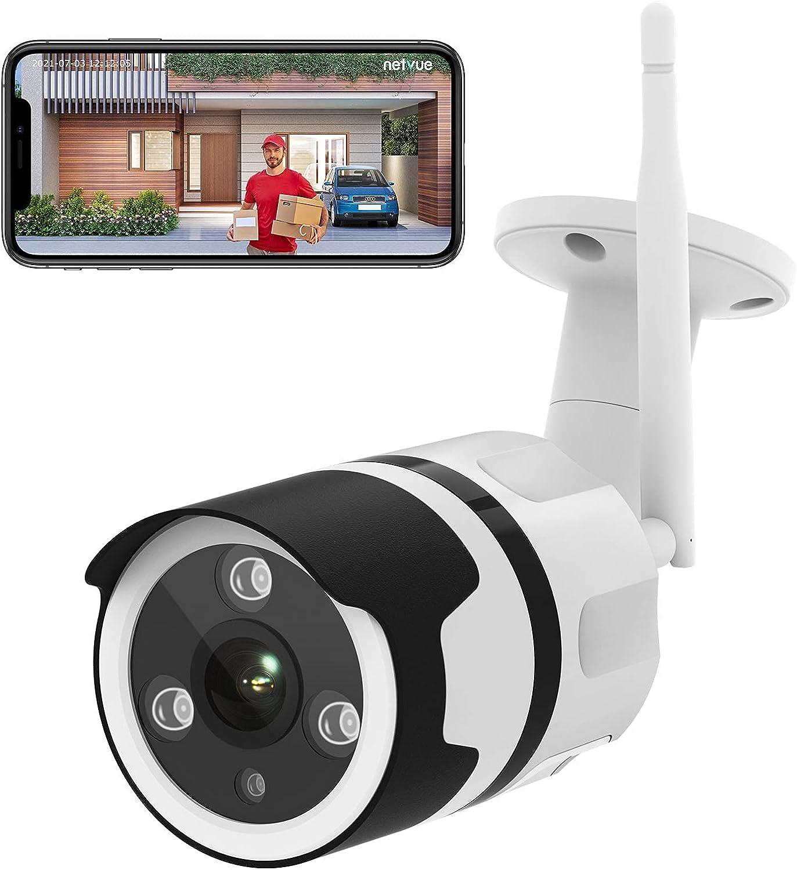 NETVUE Camaras de Vigilancia Wifi Exterior 1080P