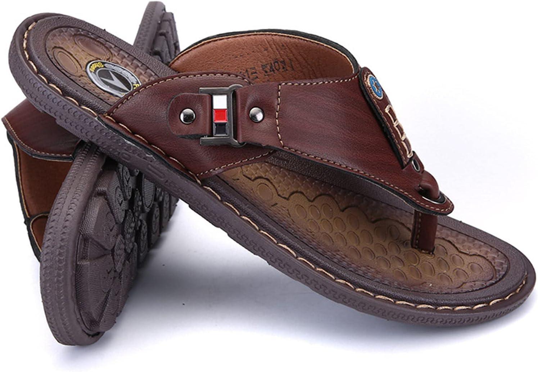 SXSZLY Flip-Flops Slippers Sales for sale Men's Long-awaited Non-Slip Beach Soft