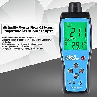 Detector de gas probador del analizador de la Calidad del Aire del monitor del medidor de