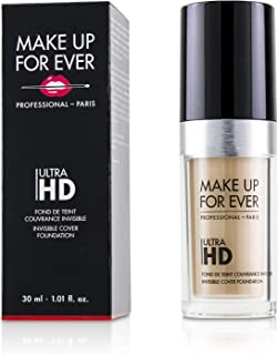 Make Up For Ever Ultra Hd Invisible Cover Foundation, Y215 Yellow Alabaster, 30 ml