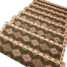 JIAJUAN Stair Carpet Treads Anti Slip Rectangular Mats Self-Sticking Floor Protector Easy Clean, 5 Styles, 5 Sizes, Custom...