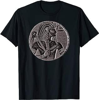 Vintage Egypt Shirt Art-Egyptian Pharaoh Black Coin King Tut T-Shirt
