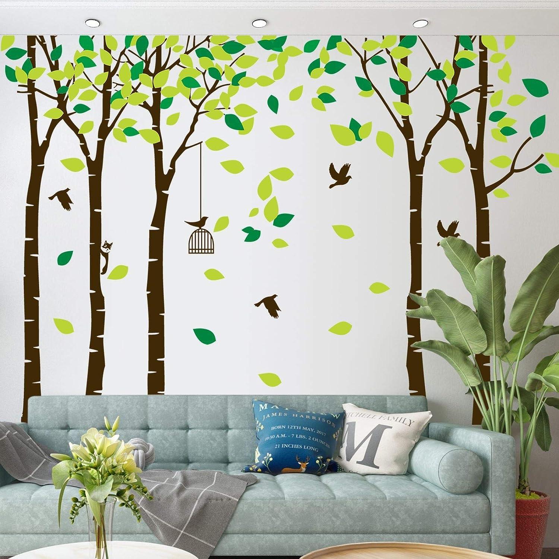 Big Forest Max 69% OFF Tree Max 45% OFF Wall Decals Art T 5 Jungle 104