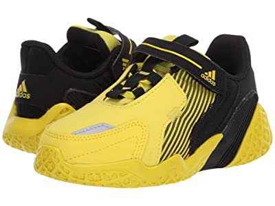 adidas Kids 4uture RnrEL (Toddler) (Shock Yellow/Black) Boy