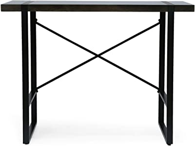 Christopher Knight Home Glentana Desk, Black + Brown