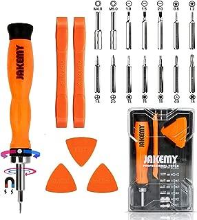 PC Tool Kit, Jakemy Ratchet Repair Screwdriver Set, Torx screwdriver 20 in 1 for iPhone X, iPhone 8/8 Plus/7/7 Plus/6/6 Plus/6S/5/5C/5S/4/4S/iPad 4/3/2/Mini, Laptop