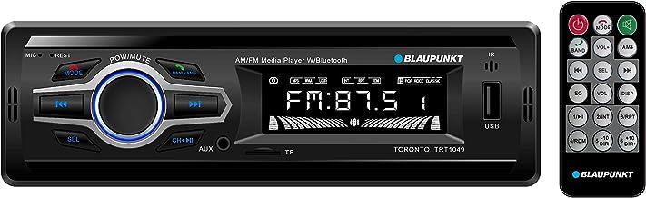 Blaupunkt Toronto AM/FM Media Receiver - Bluetooth, Easy Installation, Remote Control Included, SD Card, Aux Input, Handsfree (TRT1049)