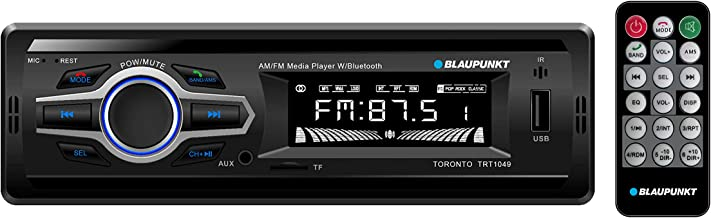 Blaupunkt Toronto AM/FM Media Receiver - Bluetooth, Easy Installation, Remote Control Included, SD Card, Aux Input, Handsfree