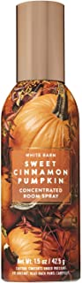 Bath and Body Works Sweet Cinnamon Pumpkin Concentrated Room Spray 1.5 Ounce (2019 Edition, White Barn Label)