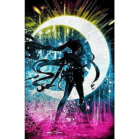Diamant Malerei 5d Diy Diamond Painting Große Größe Vollbohrer Set Großes Sailor Moon Hobby Kristall Harz Strass Stickerei Kreuzstich 5d Kunst Für Schlafzimmer Wand Arts Decor Vierkant Bohrer 30x60cm Küche Haushalt