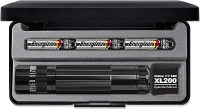 Black Maglite XL200 Mini Torch
