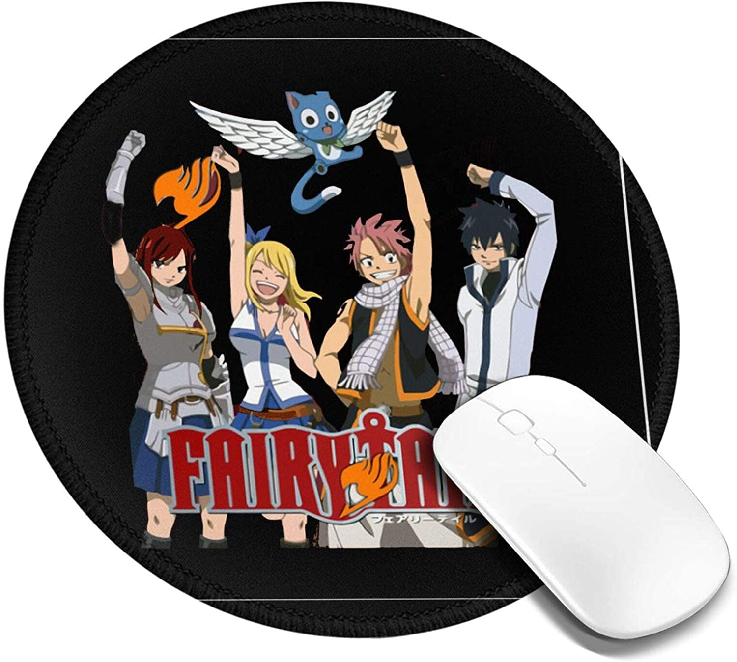 Bemostrich Fairy Tail Manga Comic Cute New sales Mouse Round Pad Personal Sale special price
