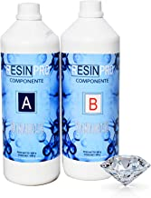 Resina epoxi, Ultra transparente 2-K kg1,6con B-Super transparente efecto agua para creación de joyas resina transparent-résine para Créations moules-bestseller de Resin Pro (1,6kg)