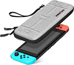 Ultra Slim Carrying Case for Nintendo Switch, innoAura Portable Hardshell Travel Protective Cover fit Switch Console, 8 Game Cartridges Accessory