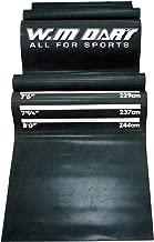 Winmax Unisex Adult WMG08764 Dart Mat - Black, 8.75kg
