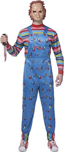encuentra tu favorito aquí Mens Chucky Chucky Chucky Fancy Dress Costume Medium  suministro directo de los fabricantes