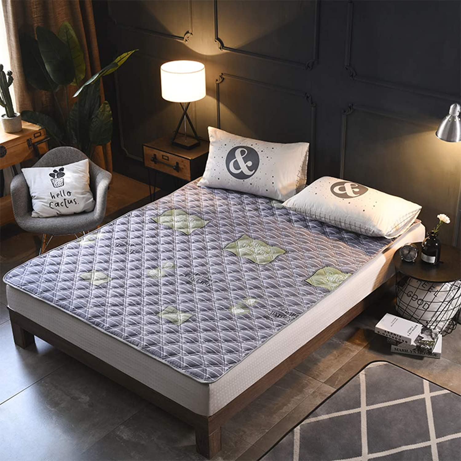 Foldable Mattress,Tatami Bed Mattress,Thin Washable Folding for Bedroom Living Room-B 135x200cm(53x79inch)