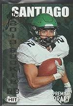 2019 Sage Hit John Santiago North Dakota Premier Draft Football Card #7