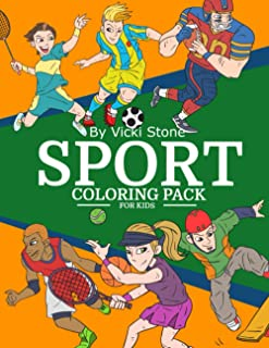 Sports Coloring Pack For Kids: Activity Book
