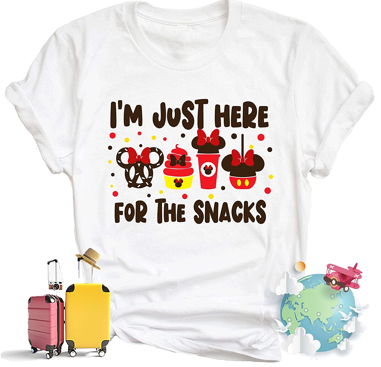 I'm Just Super-cheap Here For The Snacks. Family Disneyland Shirts. Super sale Disneyla