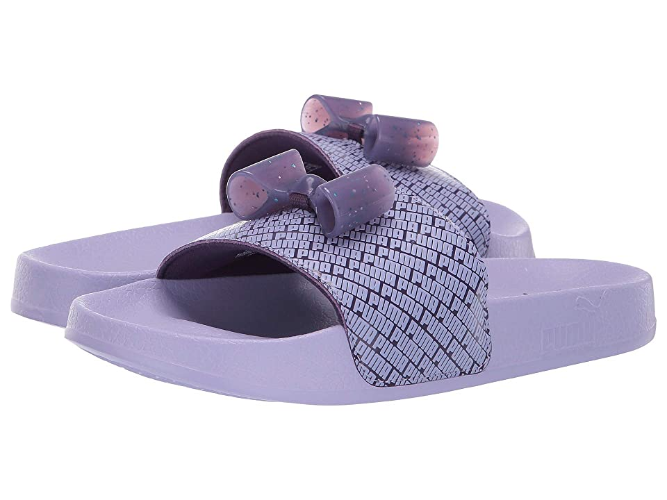 Puma Kids Leadcat Bow Jelly (Little Kid) (Indigo/Sweet Lavender) Girls Shoes