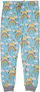 Rainbows and Unicorns Mens Cotton Jogger Pajama Pants - Comfy Sleep and Loungewear