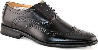 ragazzi foderato in pelle con lacci matrimonio Smart Brogue nero scarpe eleganti taglia 13–5