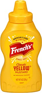 French's Classic Yellow Mustard, No Artificial Colors, 8 oz
