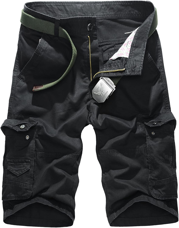 Colorfulworldstore Summer Mens Cotton Casual Shorts Pants