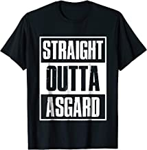 Straight Outta Asgard Birthday Gift Funny t shirt