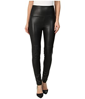 Faux Leather Shaping Legging