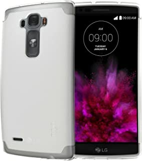 Tudia LITE TPU Bumper Protective Case For LG G Flex 2 (2015 Released) (Frosted Clear)