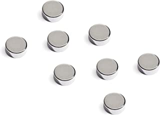 8 Magnetic Power Buttons in storage case - Collar Stays