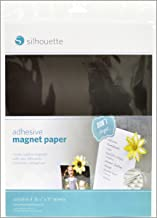 Silhouette MEDIA-MAGNET-ADH Papel Decorativo con Imán