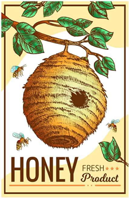 Honey Fresh Product: Beekeeping Logbook: Beehive inspection and maintenance log book for advanced beekeepers | The Guide To Keeping Bees And ... the Basics and Get Started With Beekeeping.