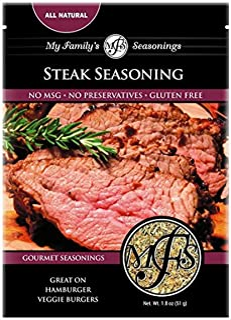 My Family's Steak Seasoning, 1.8 oz (Pack of 12)