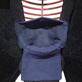 [鋳剣師] 剣道 面用 インナーマスク 差込み式 速乾メッシュ素材